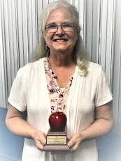 Transcendia Excellence in Education award on 9/12 to Mrs. Debbie Predieri